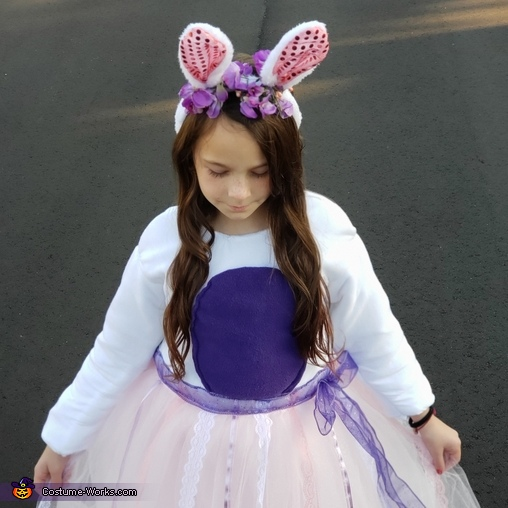 Bunny Rabbit Homemade Costume