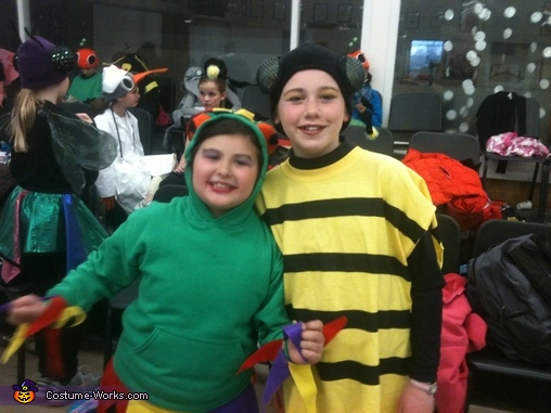 Busy Bee and Court Jester Costume