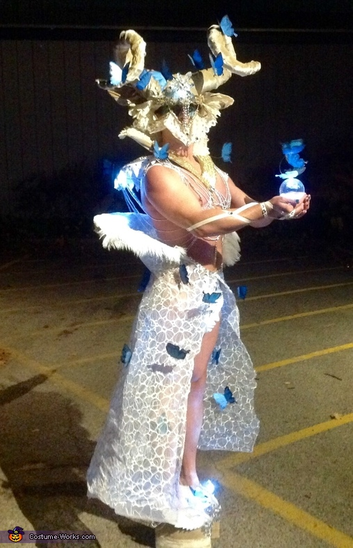 Side view, Butterfly Dream Costume