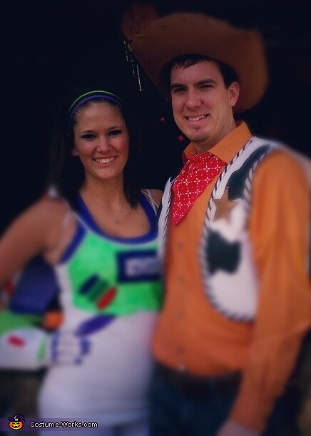 Buzz and Woody Costume