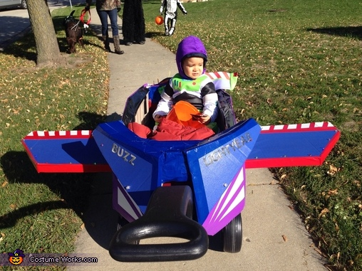 Up up and away!!, Buzz Lightyear Costume
