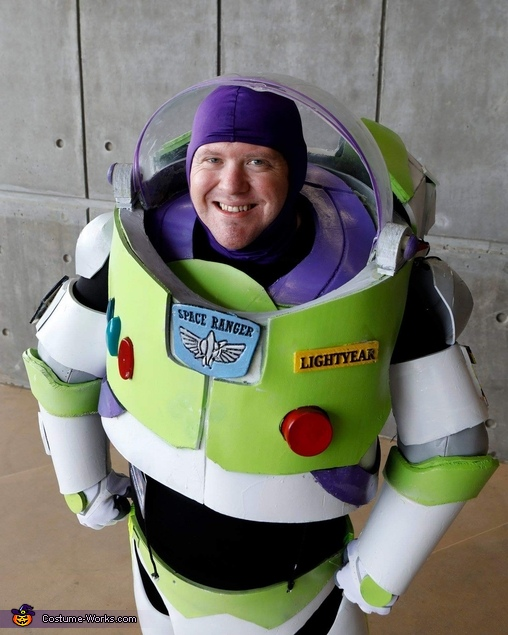 Buzz Lightyear Homemade Costume