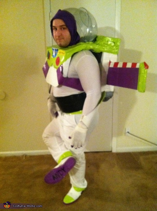 Front Shoe, Buzz Lightyear Costume