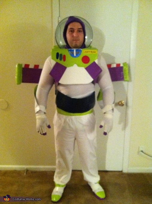 Front, Buzz Lightyear Costume