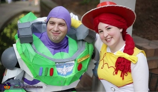 Buzz and Jessie 2, Buzz Lightyear and Jessie Couples Costume