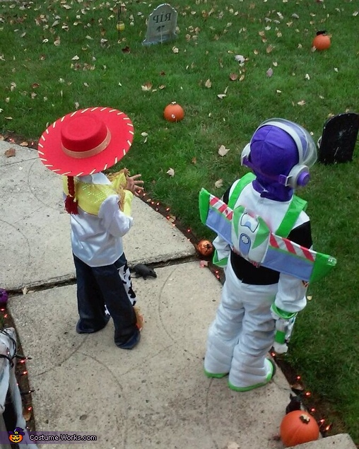 Buzz and Jessie!!!, Toy Story Buzz Lightyear and Jessie the Cowgirl Costume