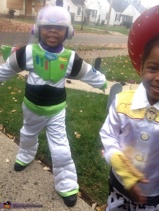 Buzz Lightyear and Jessie the Cowgirl Costume