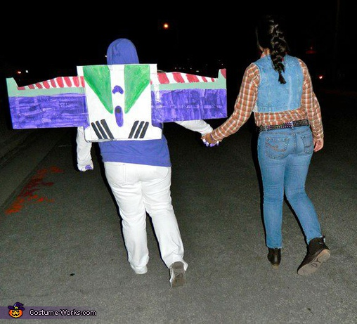 best budds, Buzz Lightyear and Woody Toy Story Costume