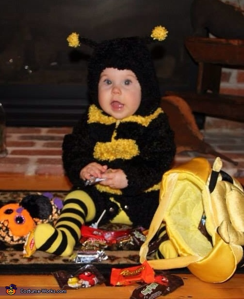 Buzzing Bumble Bee Baby Costume