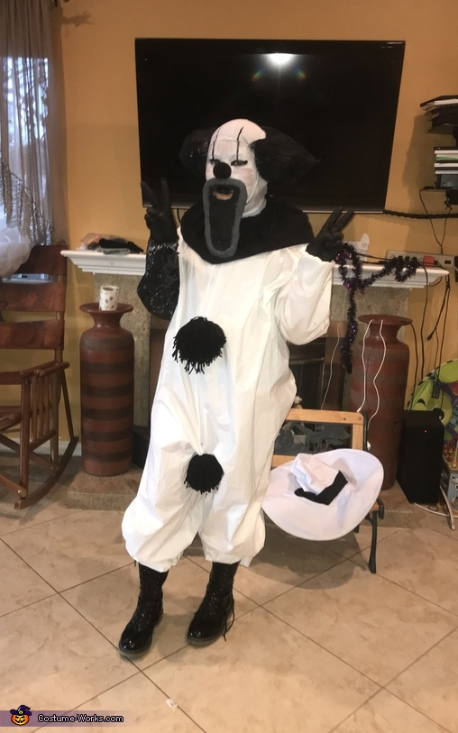 B&W Clown Costume