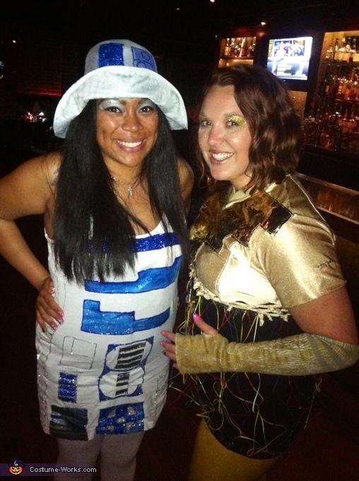C3P0 with R2D2, C3PO Costume