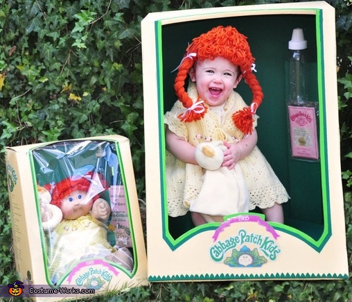 Cabbage Patch Doll - Homemade costumes for girls