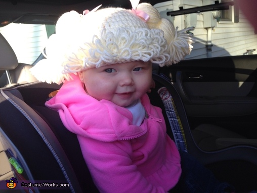 Cabbage patch baby, Cutest Cabbage Patch Baby Costume