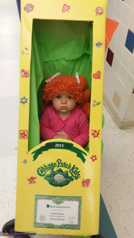 Born in the Cabbage Patch Costume
