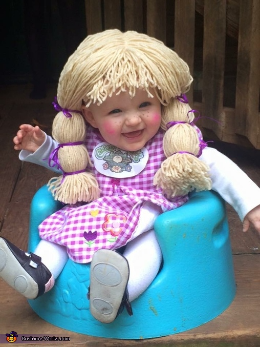 Cabbage Patch Baby Girl Costume