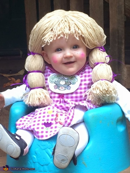 Charlee Grace--cabbage patch baby, Cabbage Patch Baby Girl Costume