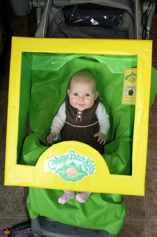 Cabbage Patch Baby Stroller Costume
