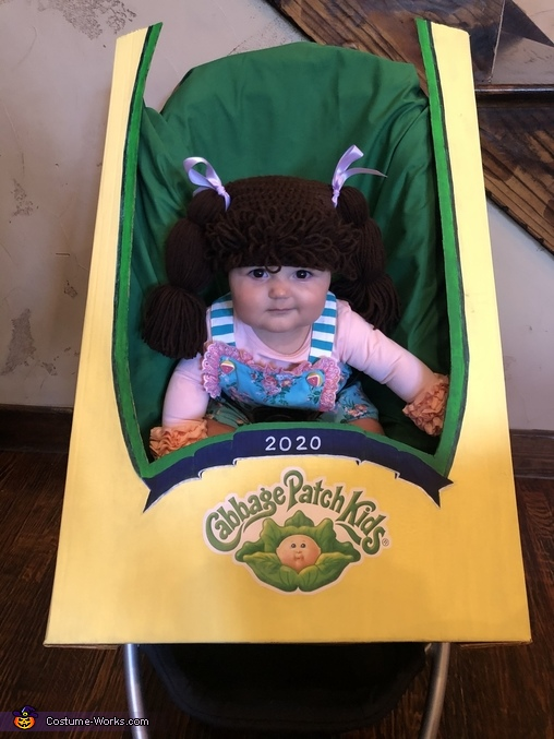 The Cutest Cabbage Patch Doll Costume
