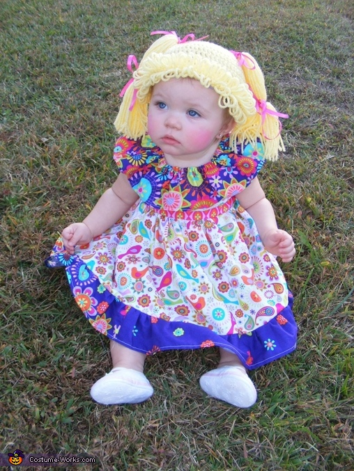 Chloe the Cabbage Patch Doll Costume