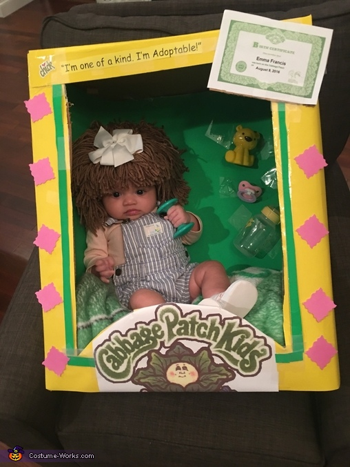 My little Cabbage Patch Doll, Cabbage Patch Doll Costume