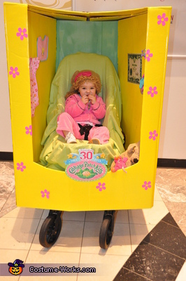 Kelsea front 1, Cabbage Patch Doll Baby Costume
