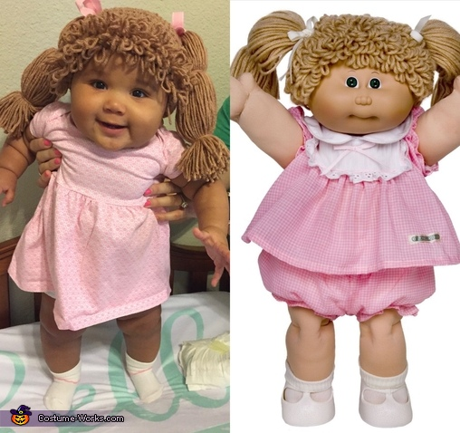 Who wore it best?, Cabbage Patch Doll Costume