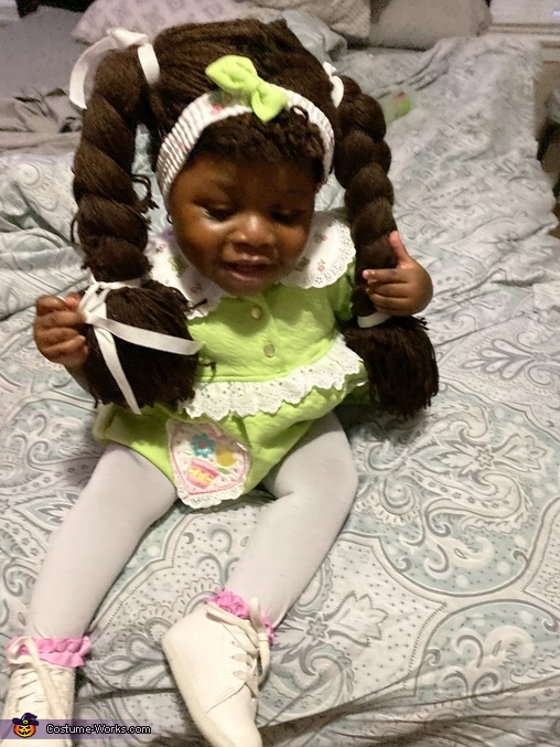 Where are we going, Cabbage Patch Doll Costume