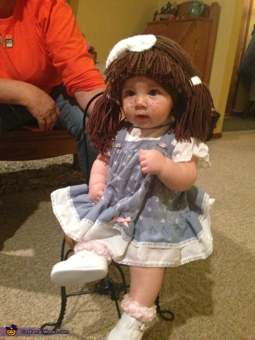 halloween costumes for kids inhabitots cabbage patch doll baby costume photo 6 7