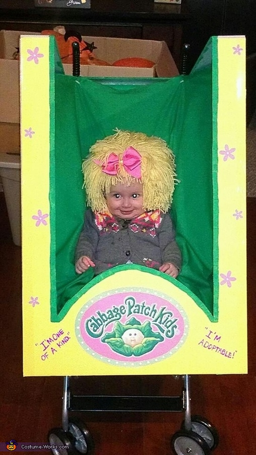 Cabbage Patch Doll in a Box Costume