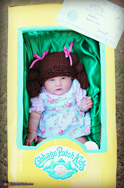 Cute Baby Cabbage Patch Doll Costume
