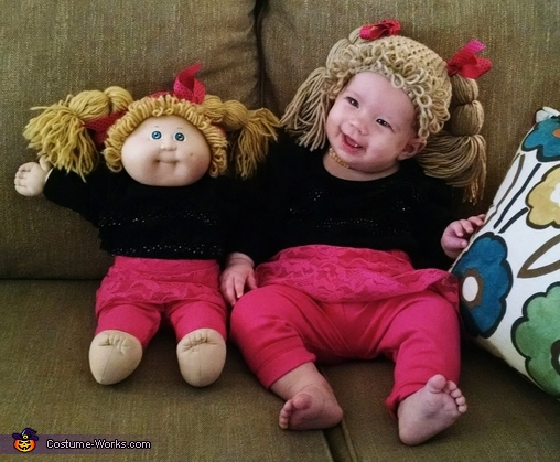 Cool Cabbage Patch Doll Costume