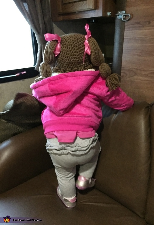 Backside, Cabbage Patch Doll Costume
