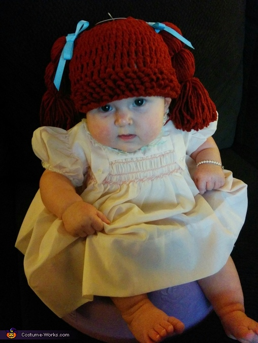 Have to lovrle the chubby ankle rolls!, Sophia The Cabbage Patch Doll Costume