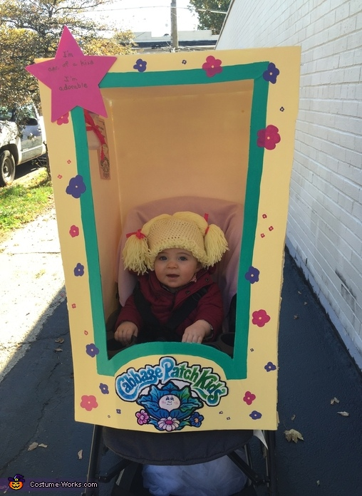 Eva the Cabbage Patch Doll Costume