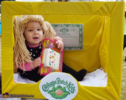 Cabbage patch costume, Cabbage Patch Doll Costume