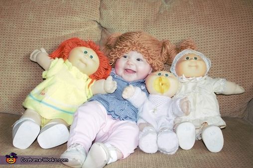 All my little dolls!, Cabbage Patch Doll Costume