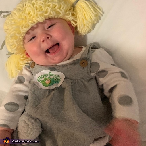 Cabbage Patch Doll Chelsea Homemade Costume