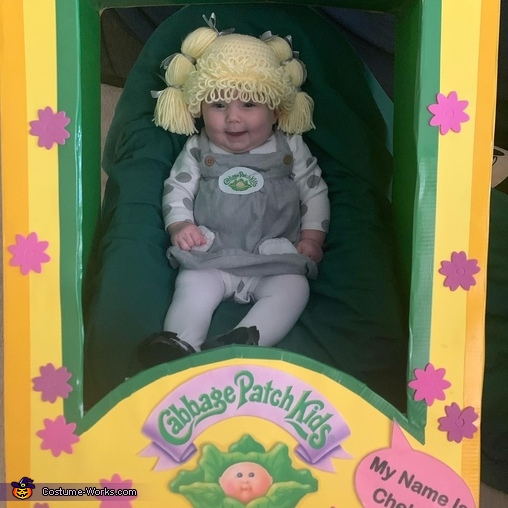 Cabbage Patch Doll Chelsea Costume