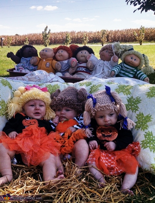 Cabbage dolls of the corn, Cabbage Patch Doll Friends Costume