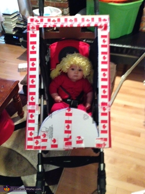 Practice Fit for Effect, Cabbage Patch Doll in Box Costume