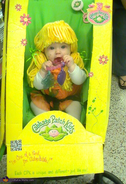 Cabbage Patch Doll in the Box Costume