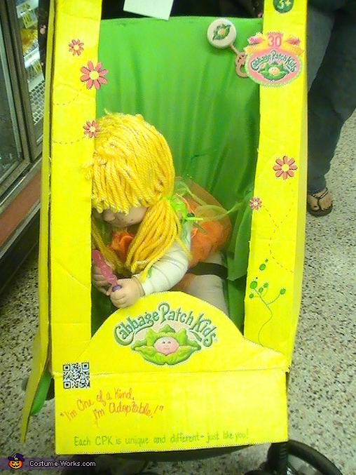 side tracked!, Cabbage Patch Doll in the Box Costume