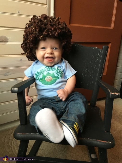 Lucas the Cabbage Patch Kid Costume