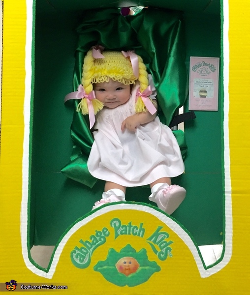 Blue eye baby, Cabbage Patch Kid Costume