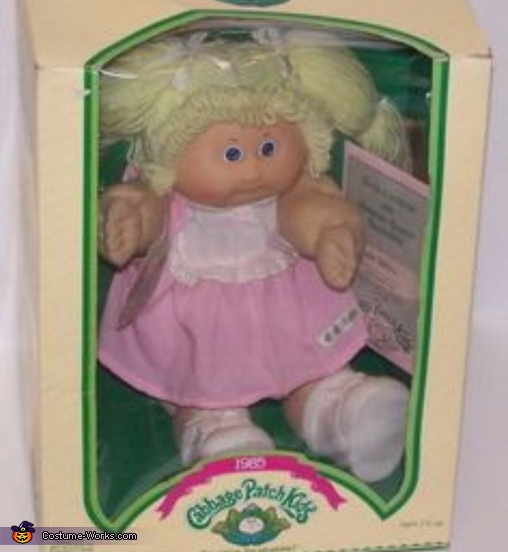 This was my inspiration, Cabbage Patch Kid Costume