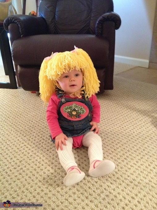 Cabbage Patch Kid Diy Costume Photo 2 2