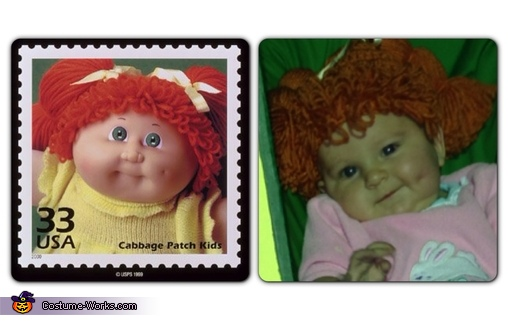 Uncanny resemblance , Cabbage Patch Kid Costume