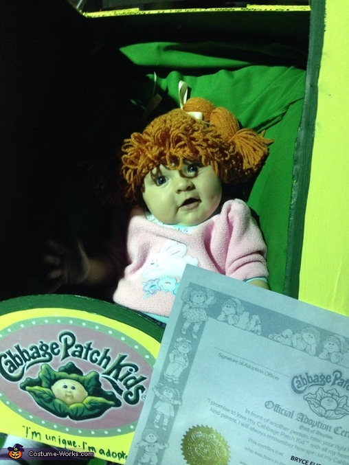 Little doll, Cabbage Patch Kid Costume