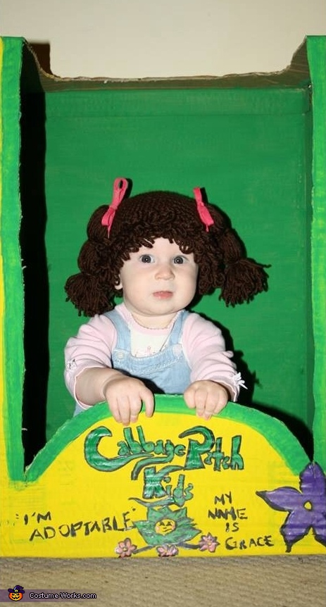 Adorable Cabbage Patch Kid Baby Costume