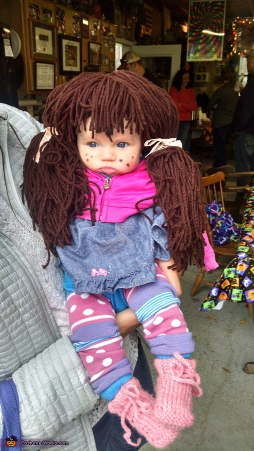 full cabbage patch outfit, Cabbage Patch Kid Baby Costume